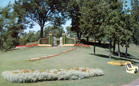 """Gates Ajar"" at Como Park, St. Paul Minnesota, 1956"