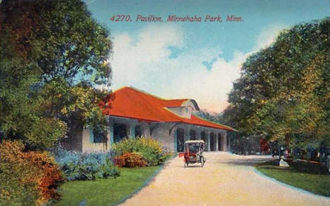 Pavilion, Minnehaha Park, Minneapolis Minnesota, 1909
