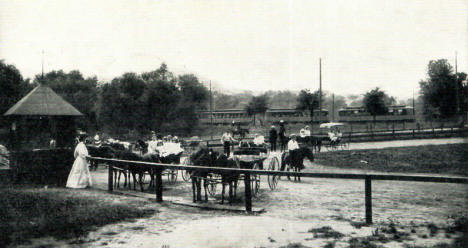 Pony Track, Minnehaha Park, Minneapolis Minnesota, 1912