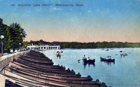 Lake Harriet, Minneapolis Minnesota, 1914