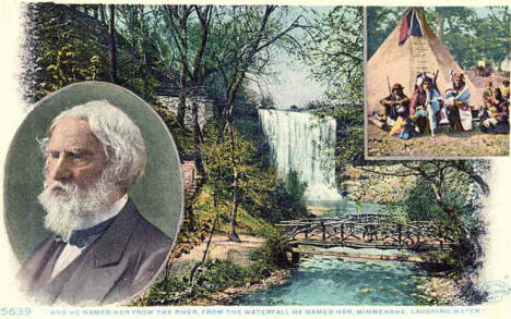Minnehaha Falls, Minneapolis Minnesota, 1910