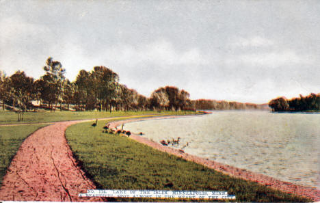 Lake of the Isles, Minneapolis Minnesota, 1910