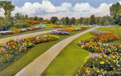 The Rose Gardens, Minneapolis Minnesota, 1920's
