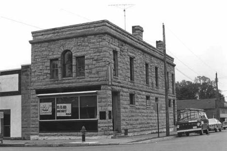 Quarry Man's State Bank, Sandstone, 1974