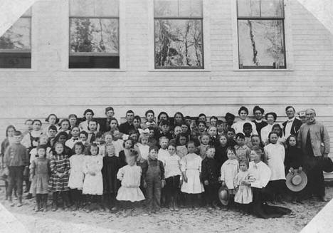 School, Big Falls Minnesota, 1900