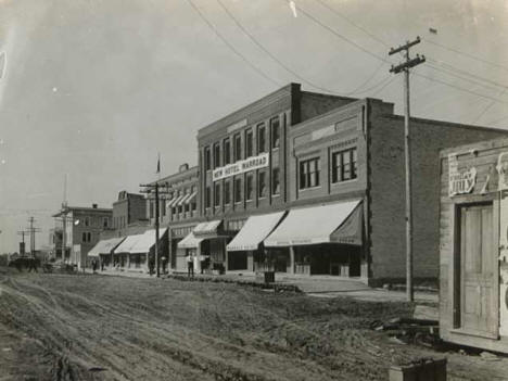 Warroad's Main Street.
