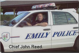 Chief John Reed, Emily Minnesota Police Department