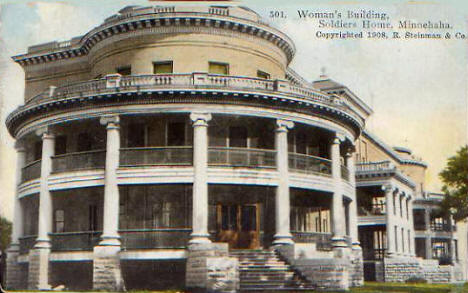 Woman's Building, Soldiers Home, Minneapolis Minnesota, 1908