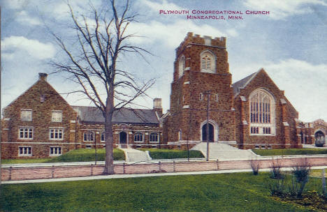 Plymouth Congregational Church, Minneapolis Minnesota, 1920's