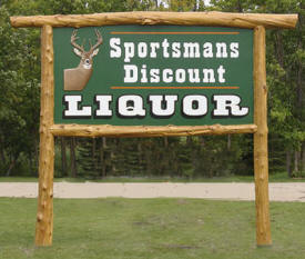 Sportsmen's Discount Liquor, Blackduck Minnesota