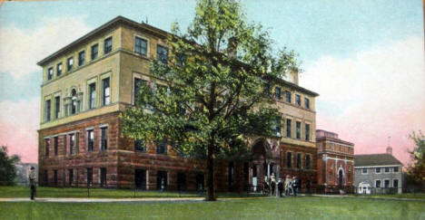 Medical Hall, Anatomical and Animal Buildings, University of Minnesota, Minneapolis Minnesota, 1905