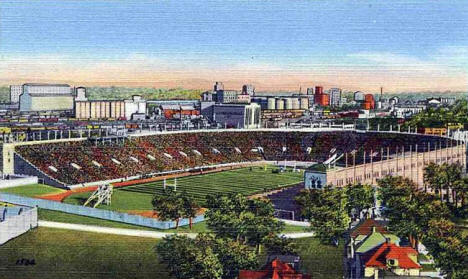 Memorial Stadium, University of Minnesota, Minneapolis Minnesota, 1940's