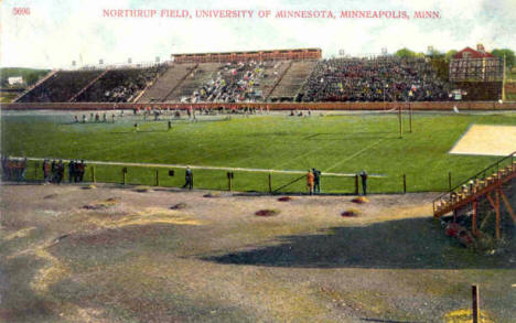 Northrup Field, University of Minnesota, Minneapolis Minnesota, 1910
