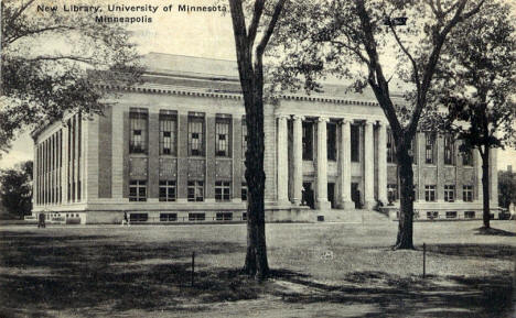 New Library, University of Minnesota, Minneapolis Minnesota, 1931