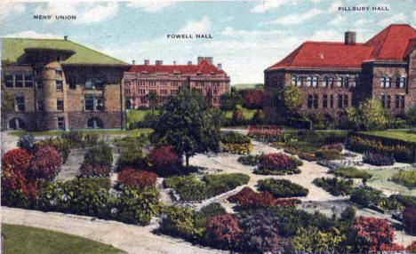 Medicinal Garden, University of Minnesota, Minneapolis Minnesota, 1924