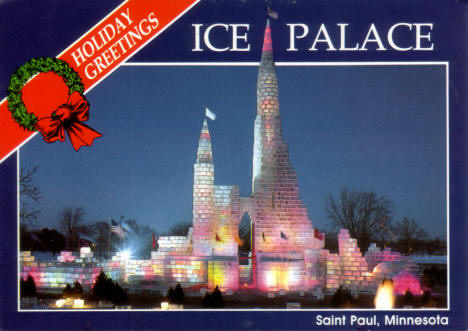 Ice Palace, Lake Phalen, 1986 Winter Carnival