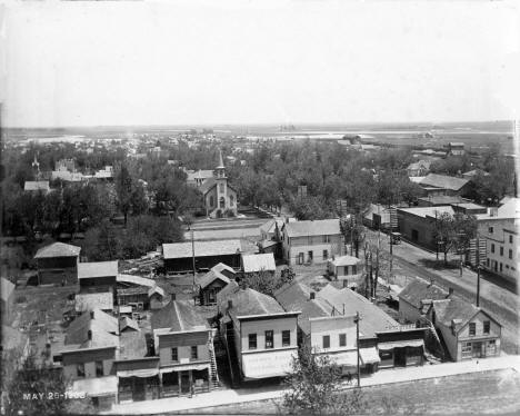 Main Street, Worthington Minnesota, 1903