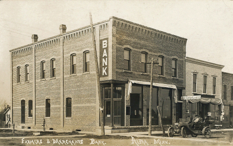 Farmers and Merchants Bank, Alpha Minnesota, 1912