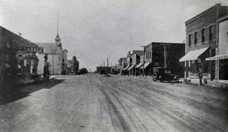 Main Street, Alpha Minnesota, 1920