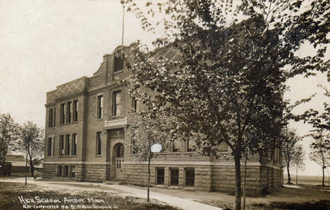 High School, Amboy Minnesota, 1910