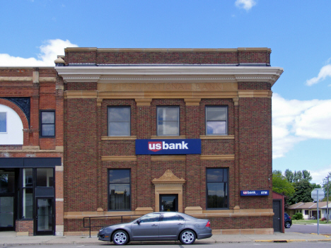 Former First National Bank, now US Bank, Amboy Minnesota, 2014