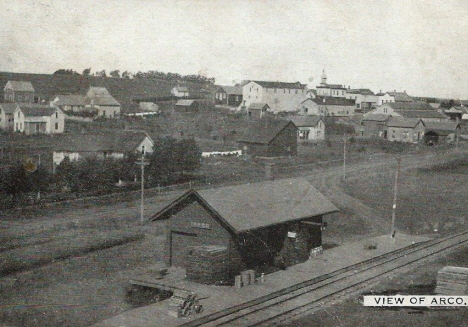 General view, Arco Minnesota, 1910's