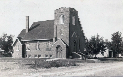Norwegian Lutheran Church, Atwater Minnesota, 1930
