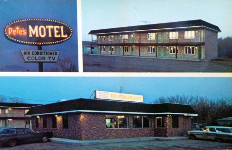 Pete's Motel and the Wagon Wheel Restaurant, Barnesville Minnesota, 1993