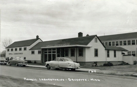 Rowell Laboratories, Baudette Minnesota, 1950's
