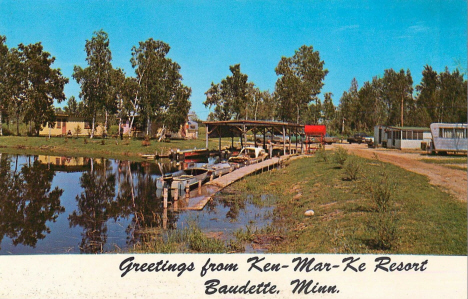 Ken-Mar-Ke Resort, Baudette Minnesota, 1960's