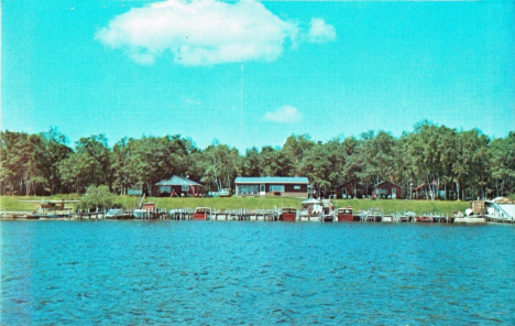 Jones Resort, Lake of the Woods, Baudette Minnesota, 1970's