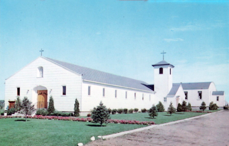 St. Ann;s Catholic Church, Blackduck Minnesota, 1960's