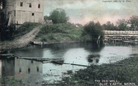 The Old Mill, Blue Earth Minnesota, 1906