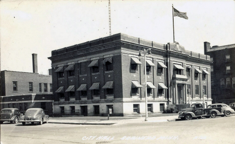 City Hall, Brainerd Minnesota, 1940's