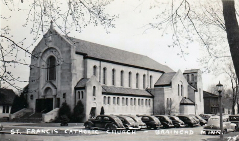 St. Francis Catholic Church, Brainerd Minnesota, 1940's