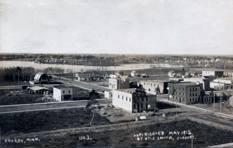 General view, Crosby Minnesota, 1912