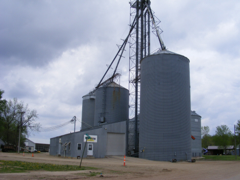 Co-op and Elevator, Dundee Minnesota, 2014