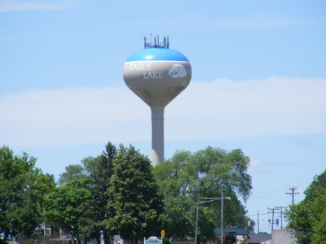 Water Tower, Eagle Lake Minnesota, 2014