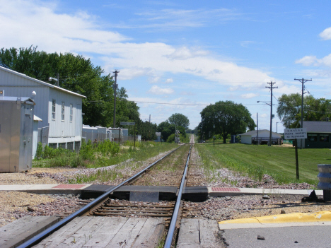 Railroad tracks, Eagle Lake Minnesota, 2014