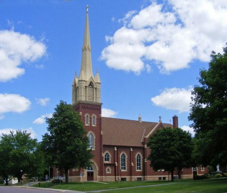 Our Lady of Mt. Carmel Catholic Church, Easton Minnesota, 2014