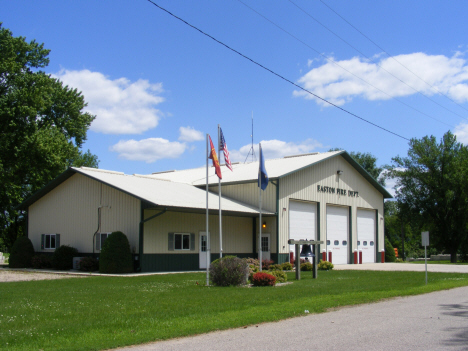Fire Department, Easton Minnesota, 2014