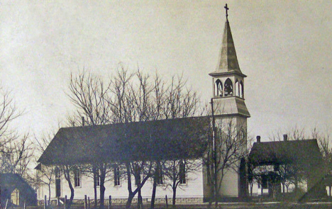 German Lutheran Church, Echo Minnesota, 1916