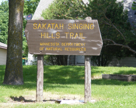 Sakatah Singing Hills Trail, Elysian Minnesota