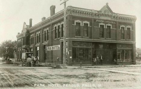 Park Hotel Fergus Falls Minnesota 1908