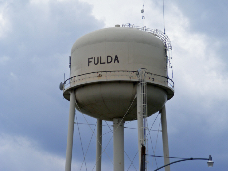 Water Tower, Fulda Minnesota, 2014