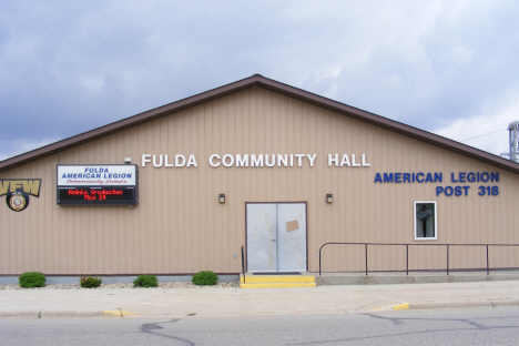 Fulda Community Hall, Fulda Minnesota, 2014