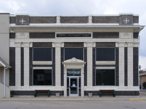 First National Bank, Fulda Minnesota, 2014