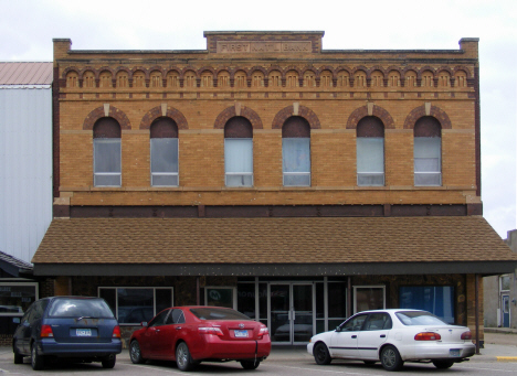 Former First National Bank Building, Fulda Minnesota, 2014