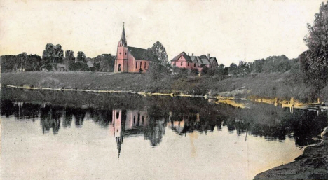 Catholic Church, Fulda Minnesota, 1908