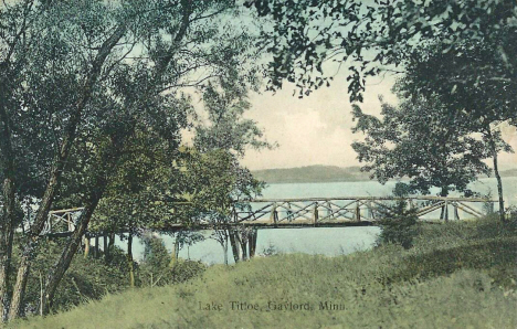 Lake Titloe, Gaylord Minnesota, 1910